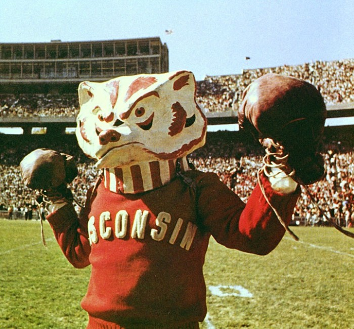 8. The Wisconsin Badgers. The best team in all of college sports.