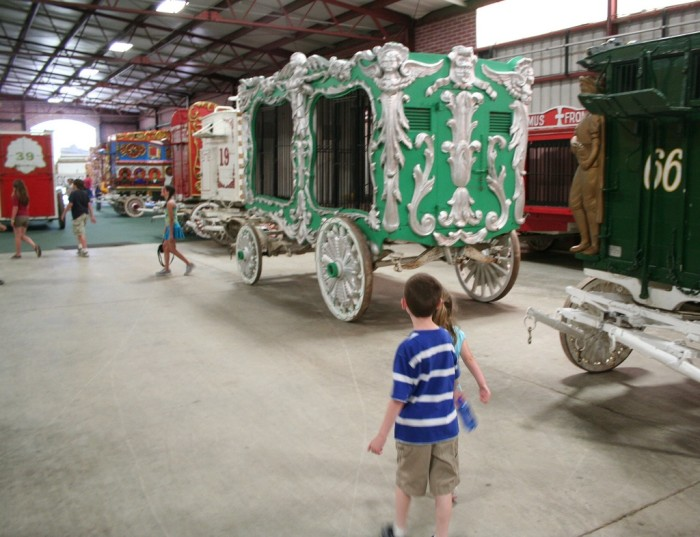 10. Circus World (Baraboo) provides an unparalleled museum experience for kids and adults.