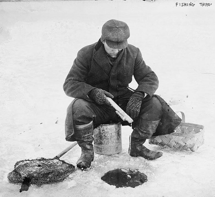 1. Ice Fishing. We love doing everything when it's freezing outside. Hey--don't knock it till you try it.