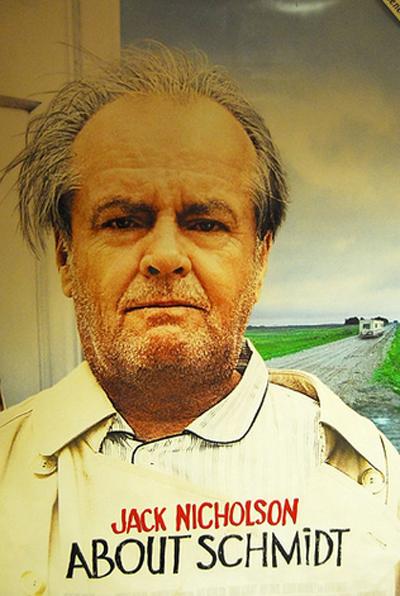 About Schmidt, 2002 - Filmed Partially in Lincoln, Kearney, Ogallala, Omaha, and Nebraska City