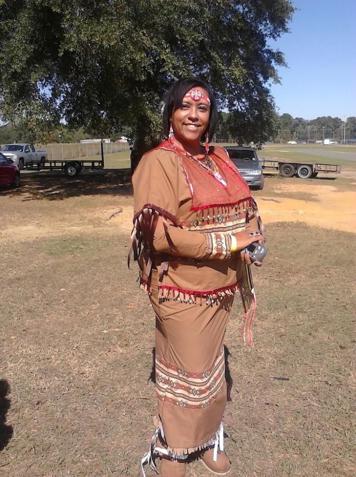 2. Southwest Louisiana Attakapas Opelousas Prairie Tribe festival
