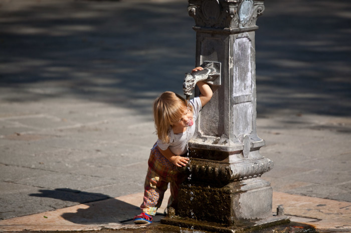 10) They have absolutely no problem drinking water from the tap.