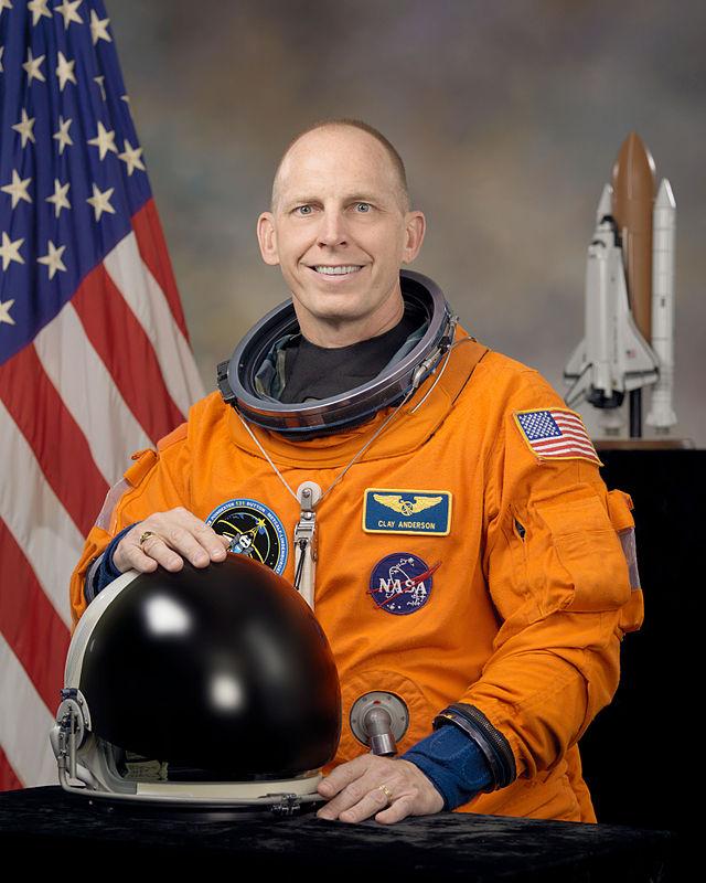 Astronaut Clayton Anderson, born in Omaha in 1959