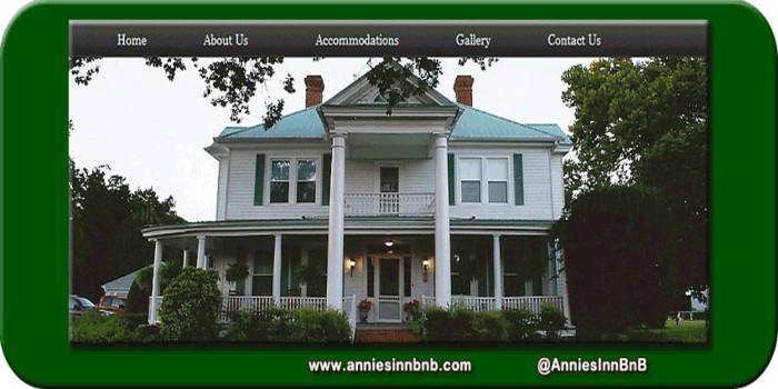 8. Annie's Inn Bed & Breakfast, Aiken, SC