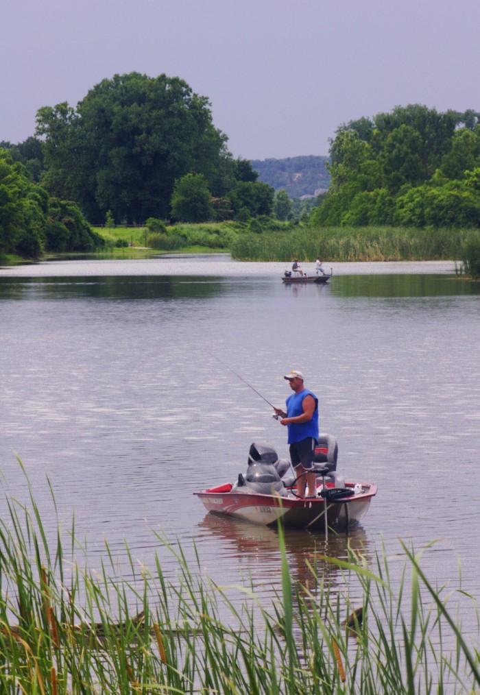 14. Arkansas Fisherman