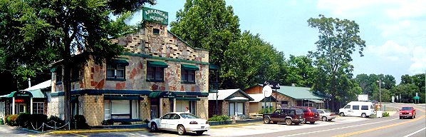 11. Arkansas House & Boardwalk Cafe