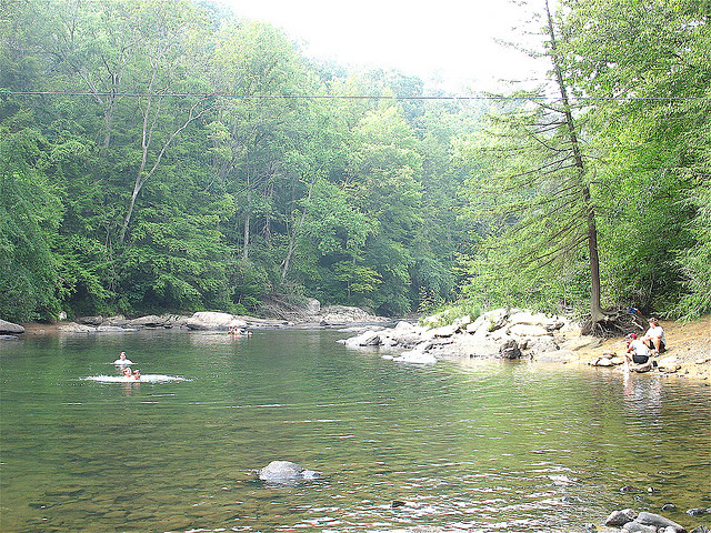 3.  Audra State Park in Barbour County
