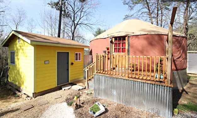 4. Yurt Life equals glamping in Asheville.