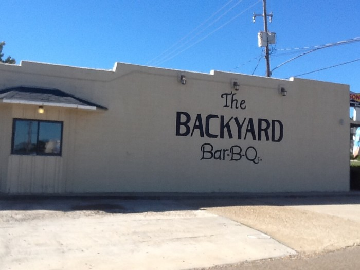 18. Backyard Barbecue Company: Located in Magnolia, this restaurant serves beef, pork barbecue, potato salad, slaw, barbecue baked potatoes, and a variety of desserts.