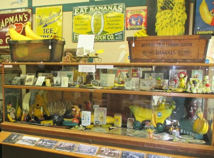 8. Make me laugh  - Washington Banana Museum in Auburn