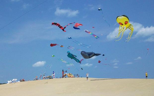 2. Rogallo Kite Festival, Jockey's Ridge State Park, June