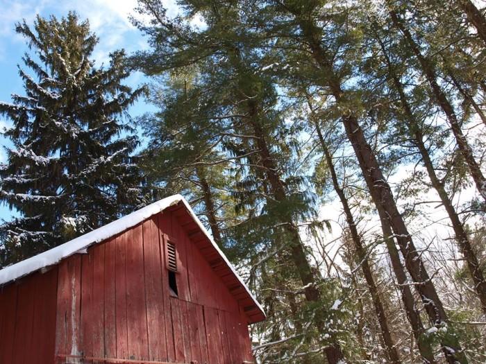 1. The Barn Loft in Fayetteville.