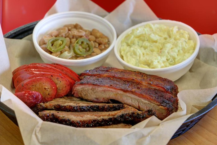 3. Big Jake's BBQ: This Texarkana-based favorite serves excellent barbecue dishes and features some of the best customer service in Arkansas.