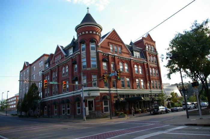 3. The Blennerhassett Hotel in Parkersburg
