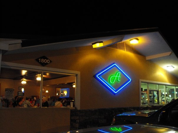 7. Atkison's Blue Diamond Cafe: In addition to delicious shakes this Morrilton, Arkansas restaurant also has burgers, fried pickles, and a variety of desserts on the menu.