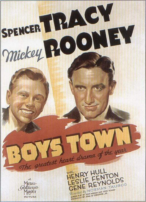 Boys Town, 1938 - Filmed Partially in Boys Town and Omaha