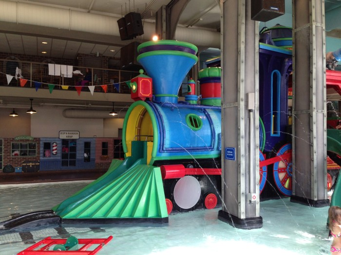 9 The Depot Waterpark in Downtown Minneapolis has amazing themed splash fountains and slides right in the heart of Minneapolis!