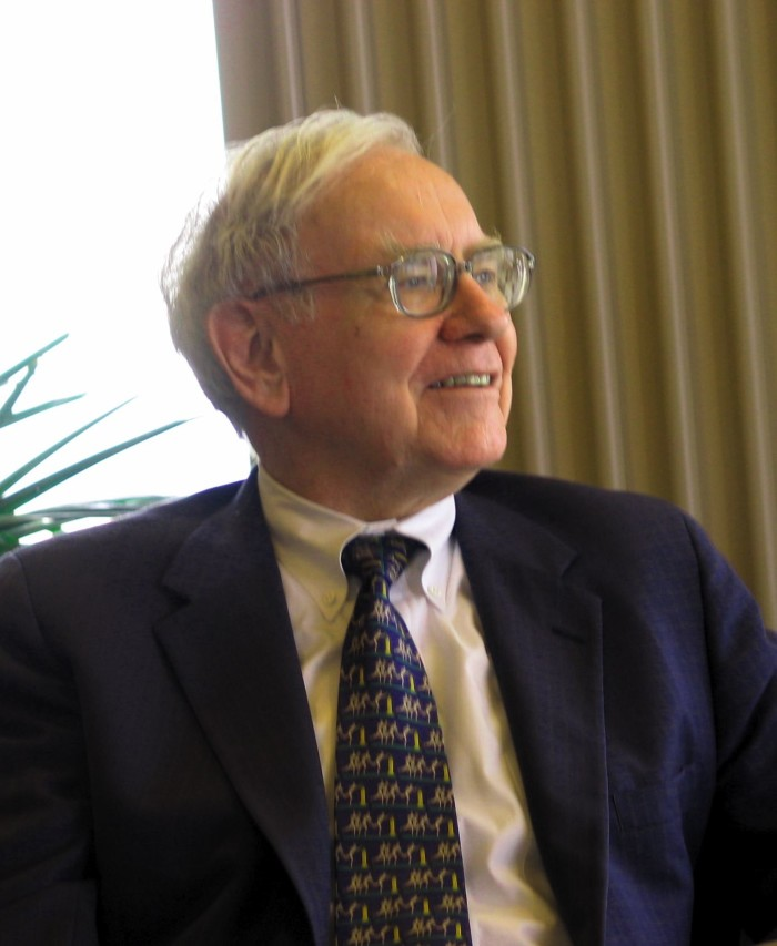 Renowned Businessman and Philanthropist Warren Buffett, Born in Omaha in 1930