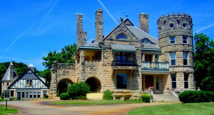 3.) Campbell Castle (Wichita)