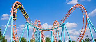 6. Experiencing your first rush of fear at Carowinds