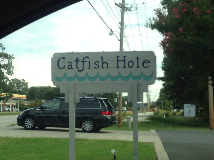 9. Catfish Hole: Take Dad & the rest of the clan to either the Fayetteville or Alma Catfish Hole for a delicious meal and entertaining family stories.