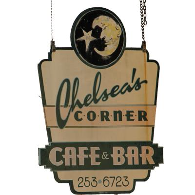 2. Chelsea's Corner Café & Bar