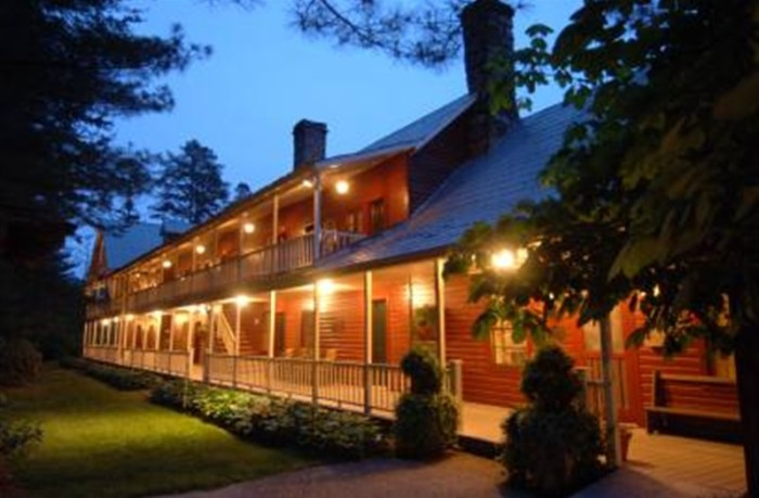 12) Glen-Ella Springs Inn- 1789 Bear Gap Road , Clarkesville, GA 30523