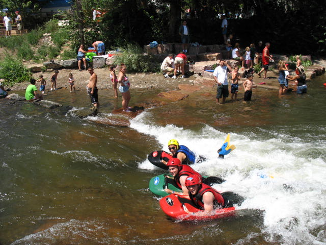 5.) Clear Creek White Water Park (Golden)