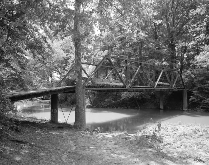 24. Little Cossatot River Bridge: This historic bridge is located in rural Sevier County, Arkansas.