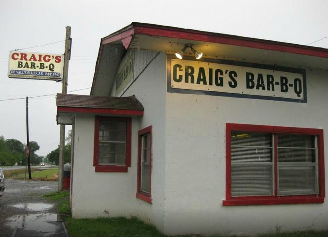 11. Craig's BBQ: This true Southern barbecue shack dates back to the 1940s and serves slow-smoked meats, fiery sauces, savory coleslaw, barbecue sandwiches, plates, ribs, and burgers.