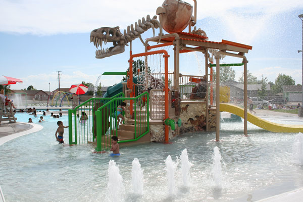 6.) Sunrise Splash Park (Greeley)