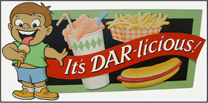 3. Dars Double Scoop is also great for pizza and ice cream!