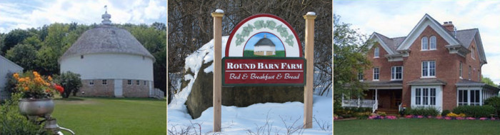 7. Round Barn Farm - Head to this fantastic Bed & Breakfast (& Bread) and get some fresh baked bread and some amazing views.