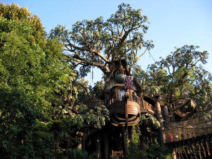 The Swiss Family Treehouse in Walt Disney World's Adventureland