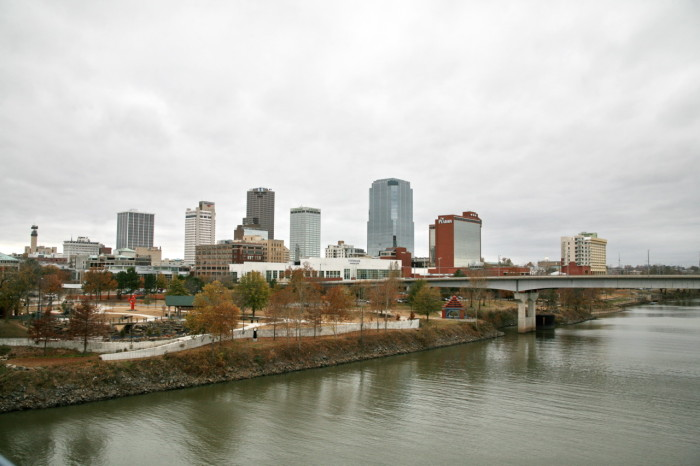 8. It's illegal for the Arkansas River to rise above the Main Street Bridge in Little Rock.