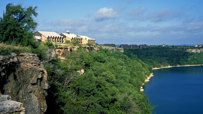 5) The Cliffs Resort on Possum Kingdom Lake (Graford)