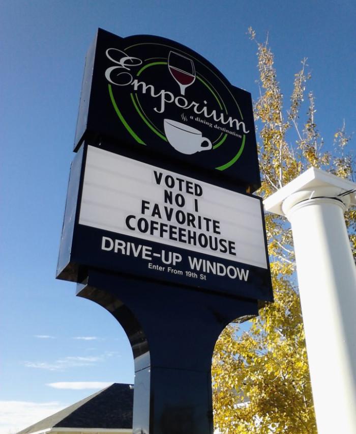 Emporium Coffeehouse and Cafe, Scottsbluff
