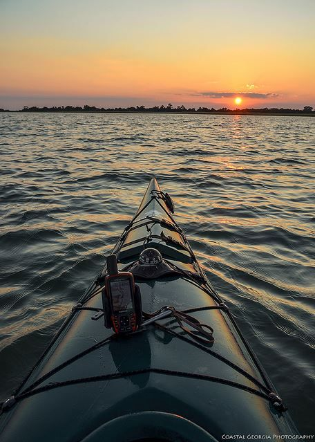 10) Watch the sunset on the water.