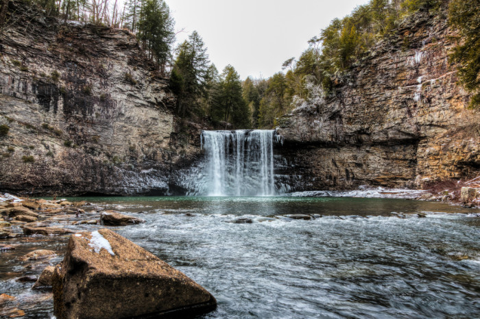 7) Fall Creek Falls - Spencer