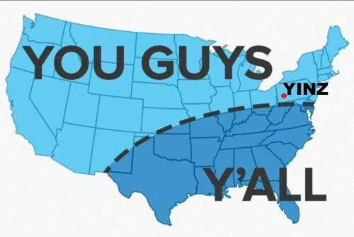 "10. A Willingness to Incorporate ""Y'all"" into your Vocabulary"