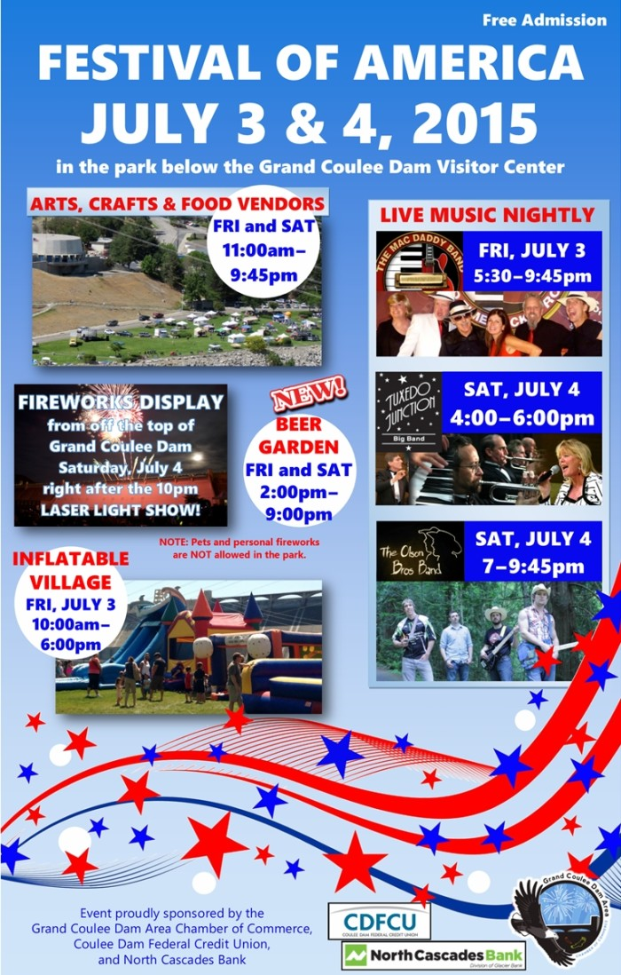 10. Grand Coulee, Festival of America