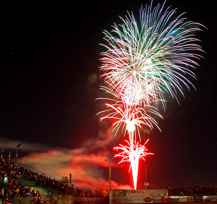 12.) Grand Junction's 4th of July Fireworks
