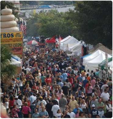 3. Wilmington Riverfest, October