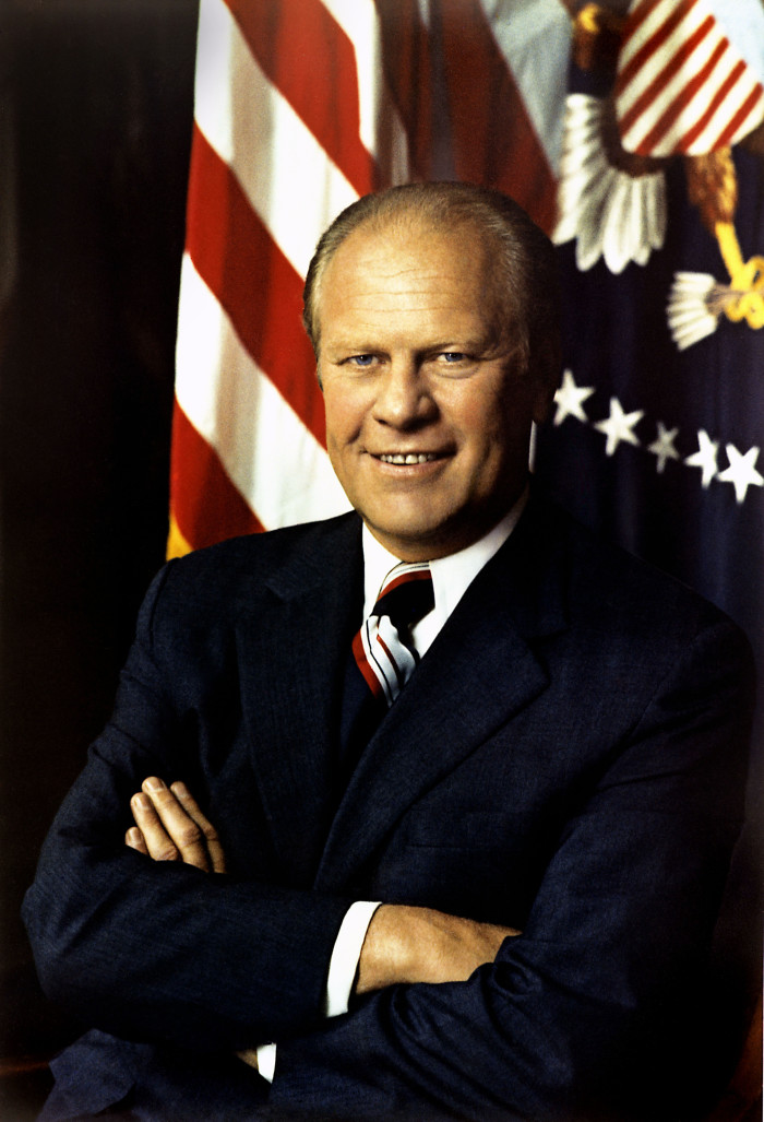 Former US President Gerald Ford, Born in Omaha in 1913
