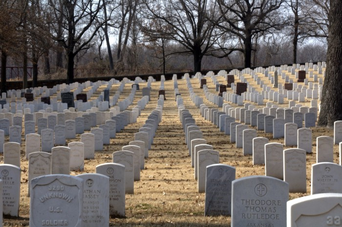 5. Fort Smith National Cemetery
