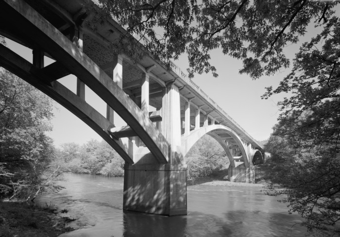 25. Fourche LaFave River Bridge: Located in Perry County, the Fourch Lafave River Bridge is significant for its association with the Luten Bridge Company and the development of the Arkansas highway system in the first half of the twentieth century.
