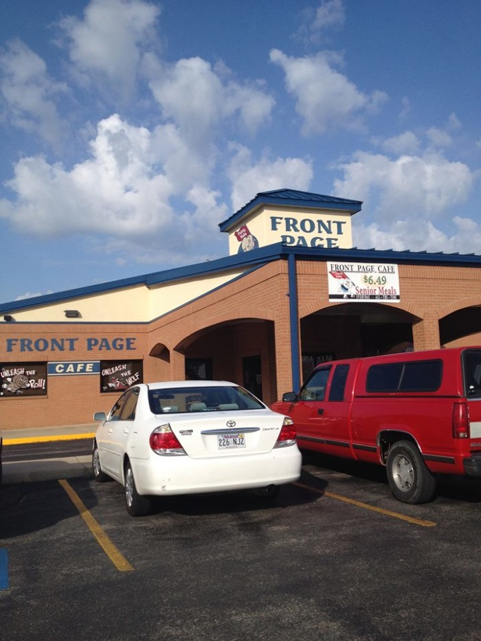 5. Front Page Cafe: Breakfasts are traditional and reasonably priced at this Jonesboro cafe.