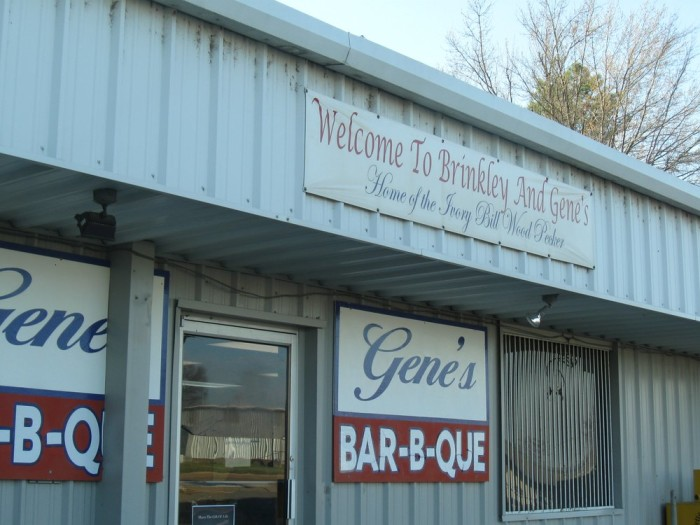 31. Gene's Bar-B-Que: This Brinkley family restaurant serves four kinds of barbecue -- pork, beef, ribs, and chicken; fish and steak are on the menu as well.