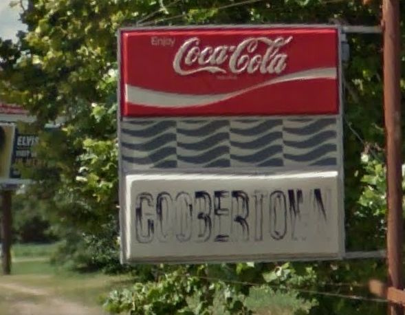 4. Goobertown: This oddly named location is an unincorporated community in Craighead County, Arkansas.