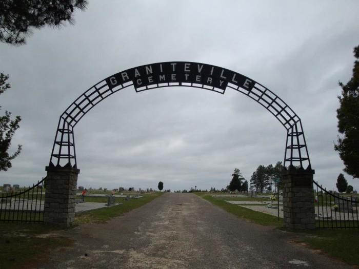 3. Graniteville Cemetery, Aiken, SC
